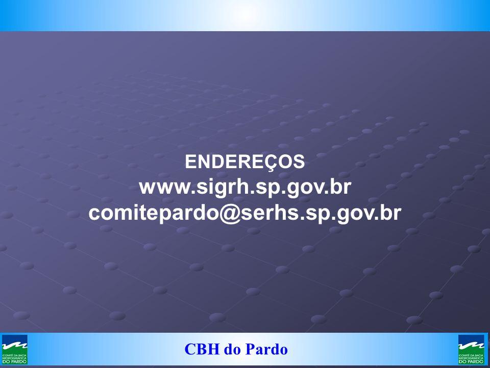 www.sigrh.sp.gov.br comitepardo@serhs.sp.gov.br