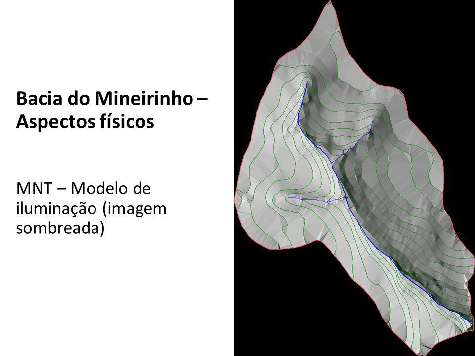 Bacia do Mineirinho – Aspectos físicos