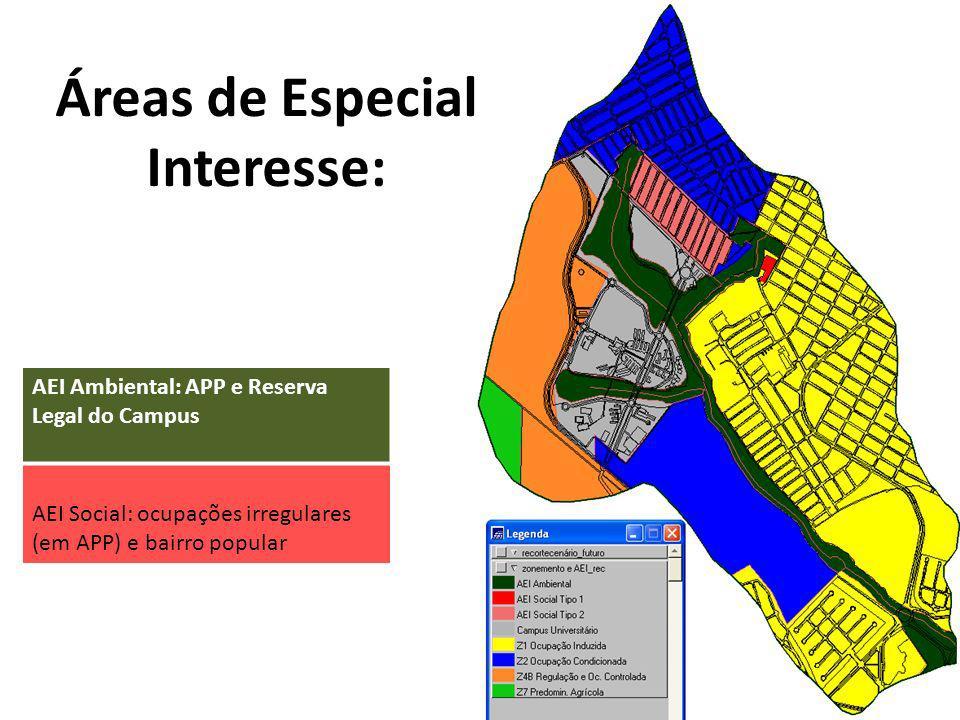 Áreas de Especial Interesse: