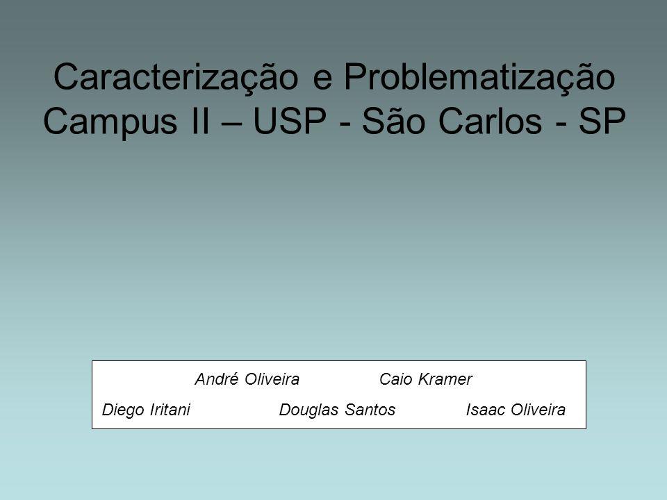 Caracterização e Problematização Campus II – USP - São Carlos - SP