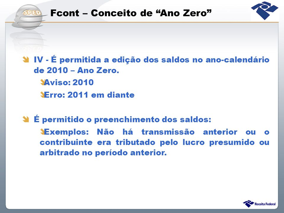 Fcont – Conceito de Ano Zero