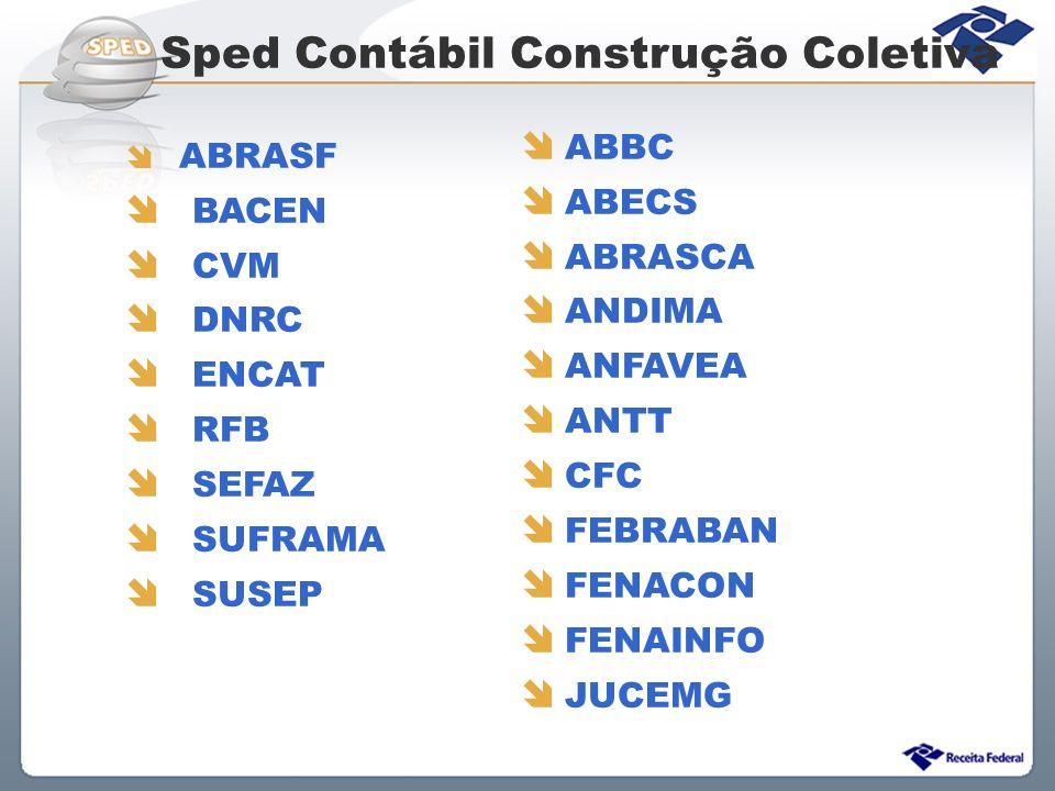 Sped Contábil Construção Coletiva