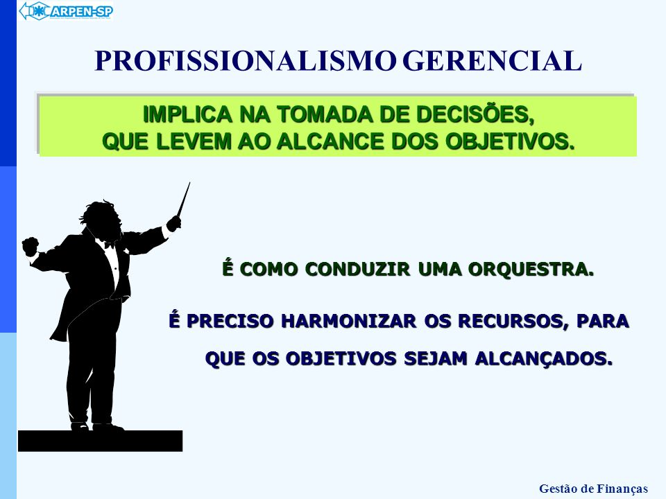 PROFISSIONALISMO GERENCIAL