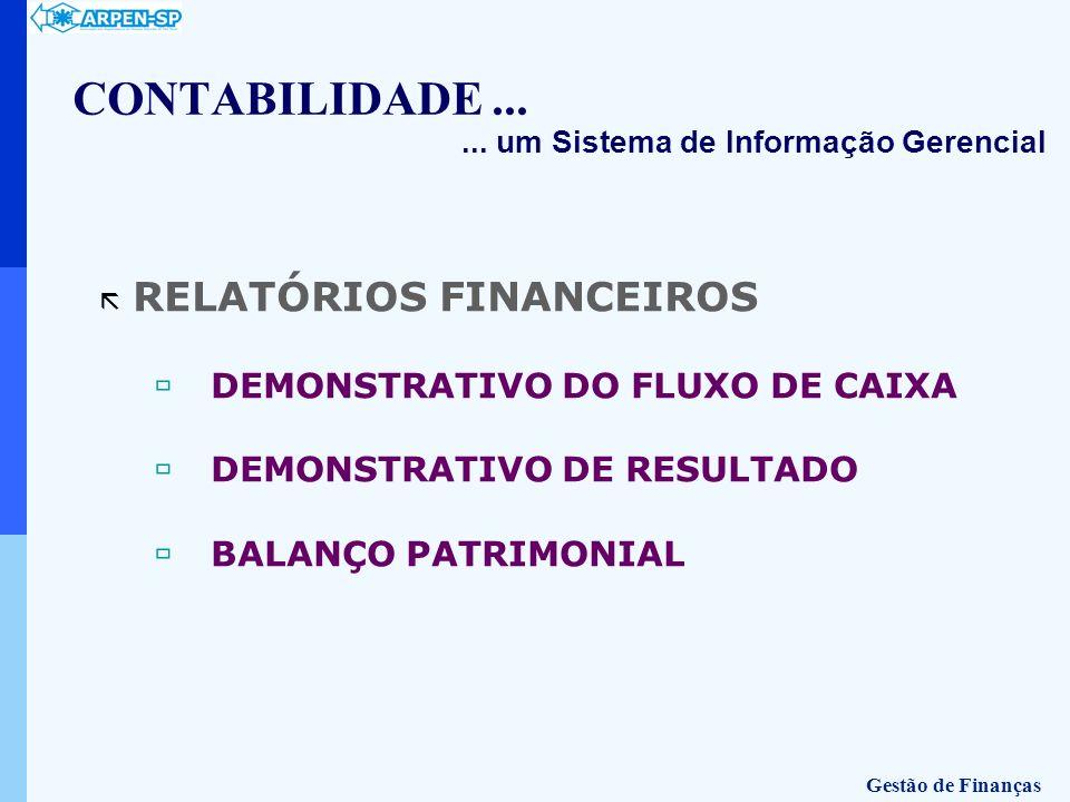 CONTABILIDADE ... RELATÓRIOS FINANCEIROS