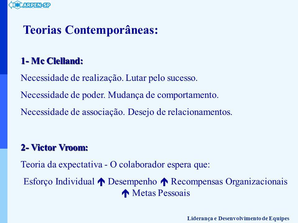Teorias Contemporâneas: