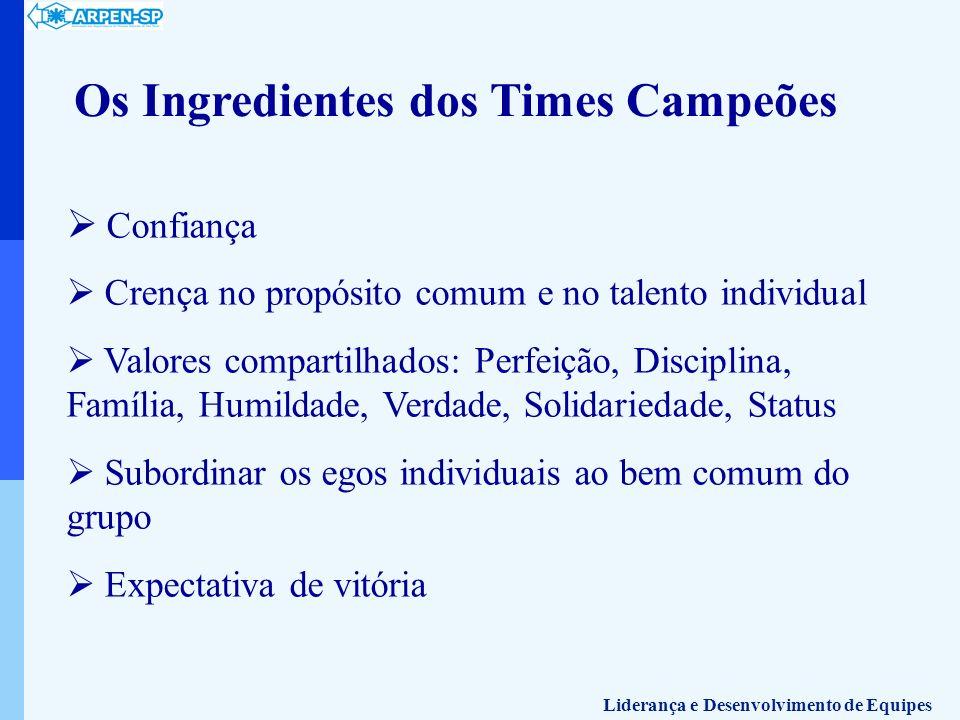 Os Ingredientes dos Times Campeões
