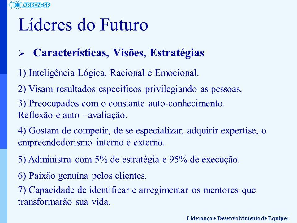 Líderes do Futuro Características, Visões, Estratégias