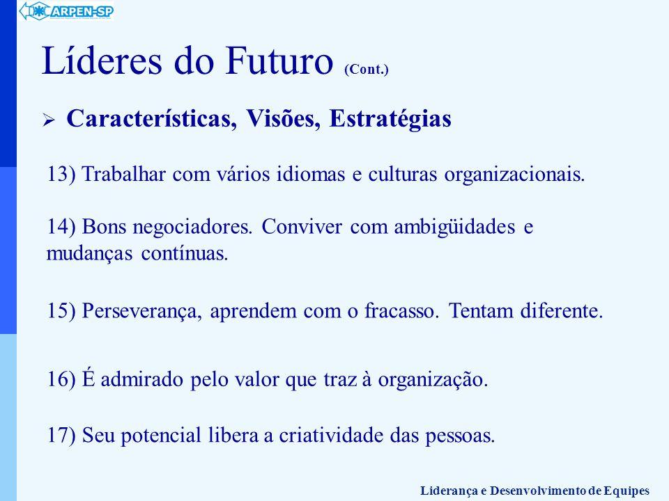 Líderes do Futuro (Cont.)