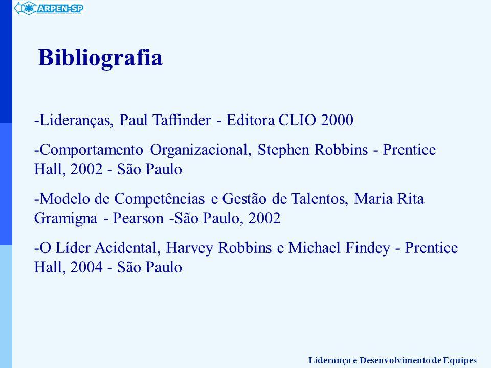 Bibliografia Lideranças, Paul Taffinder - Editora CLIO 2000