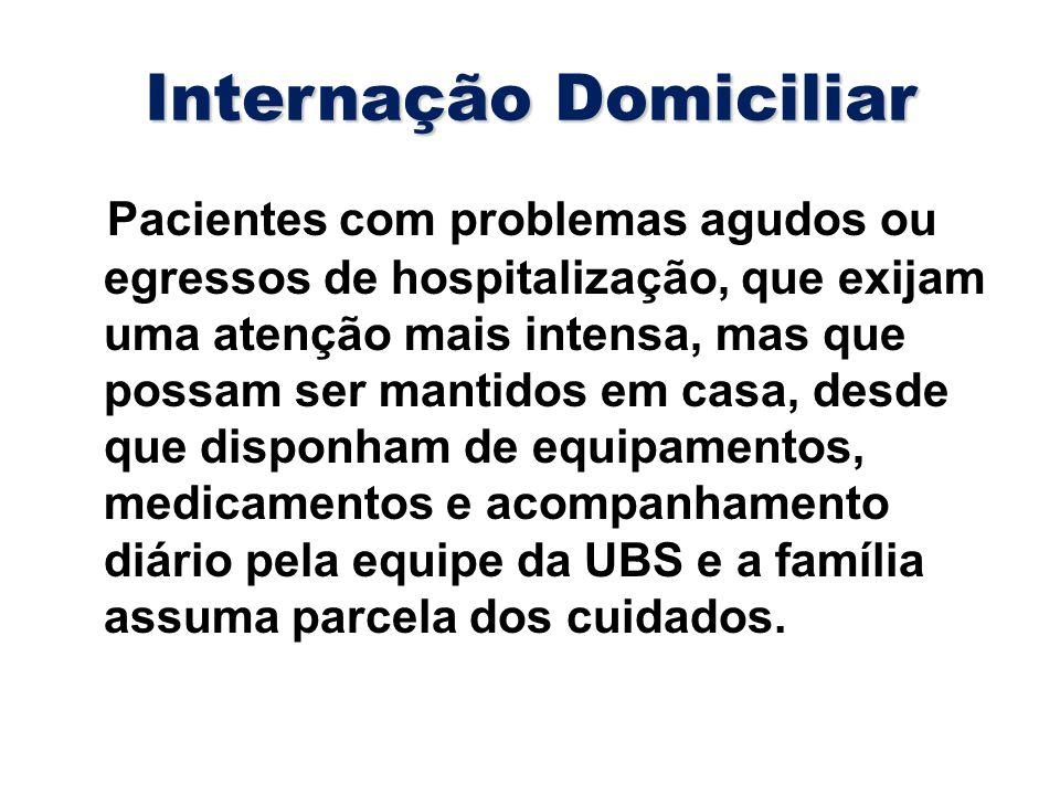 Internação Domiciliar