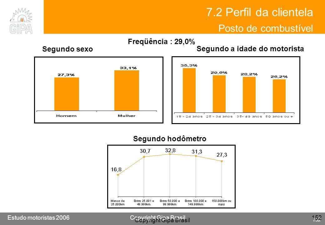 7.2 Perfil da clientela Posto de combustível