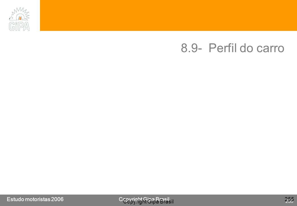 8.9- Perfil do carro Copyright Gipa Brasil
