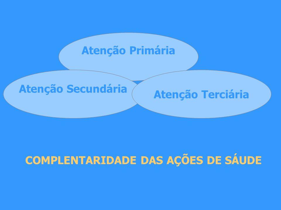 COMPLENTARIDADE DAS AÇÕES DE SÁUDE