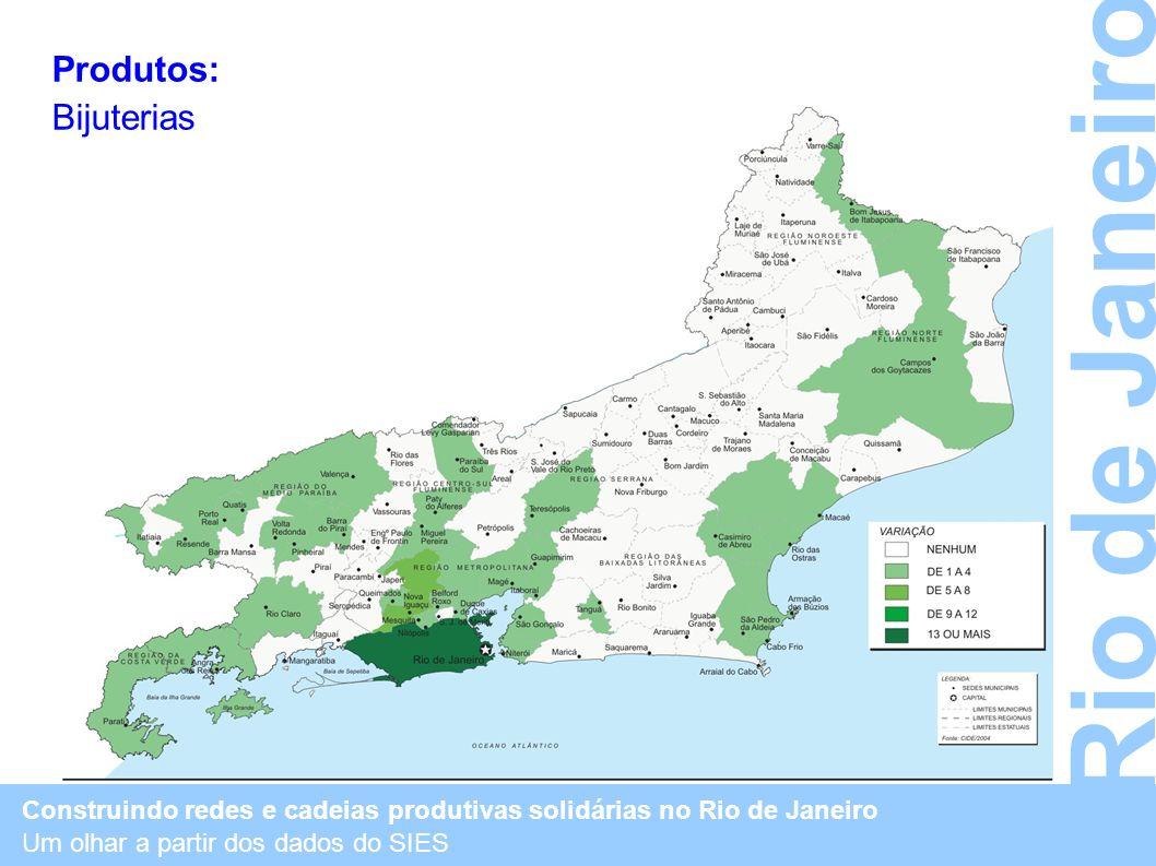 Rio de Janeiro Produtos: Bijuterias
