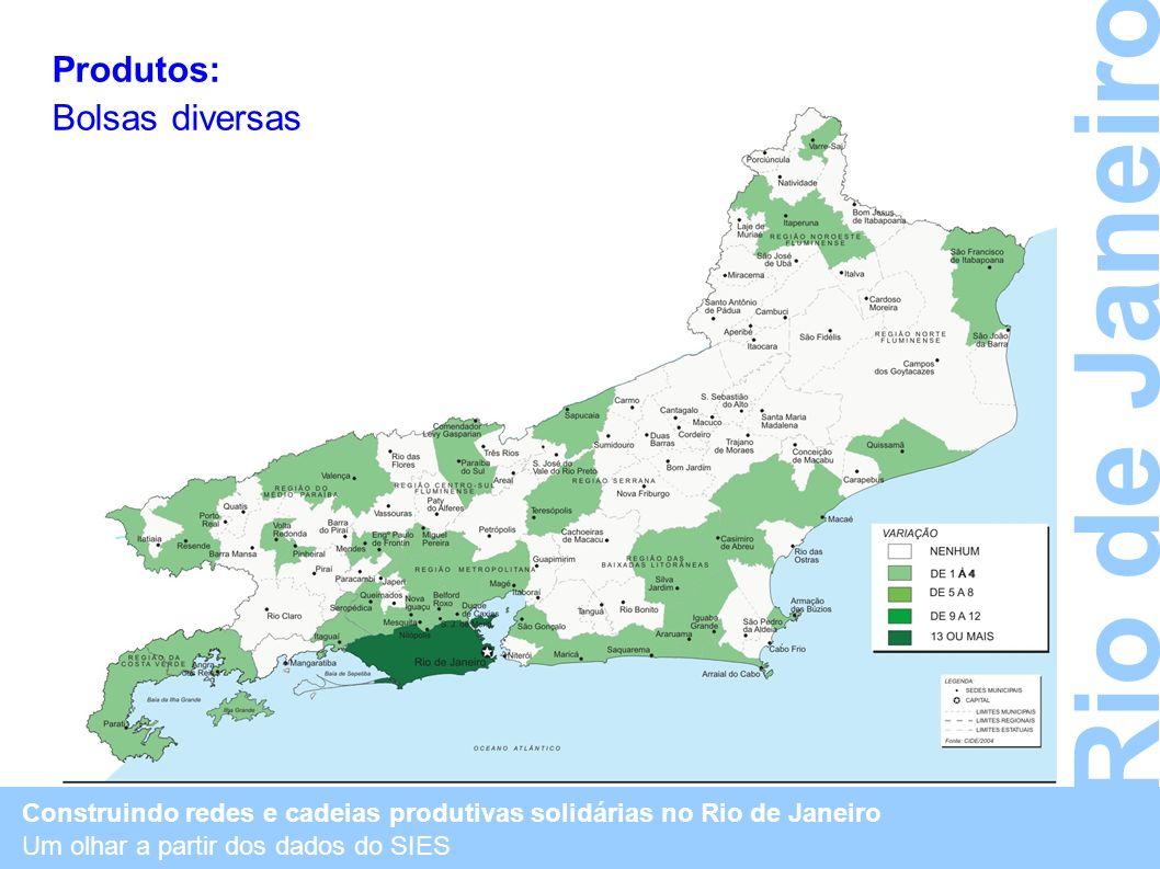 Rio de Janeiro Produtos: Bolsas diversas