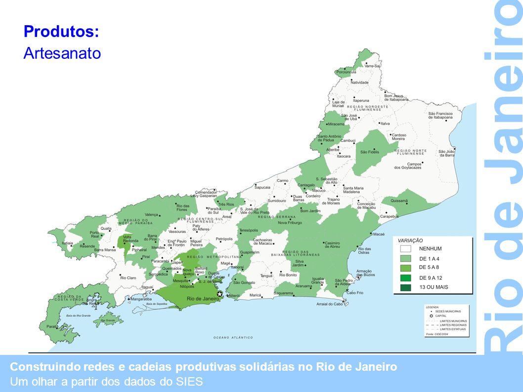 Rio de Janeiro Produtos: Artesanato