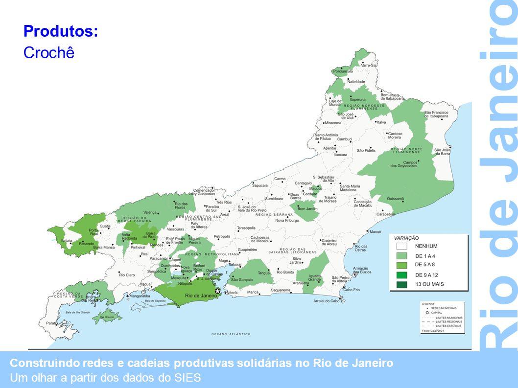 Rio de Janeiro Produtos: Crochê