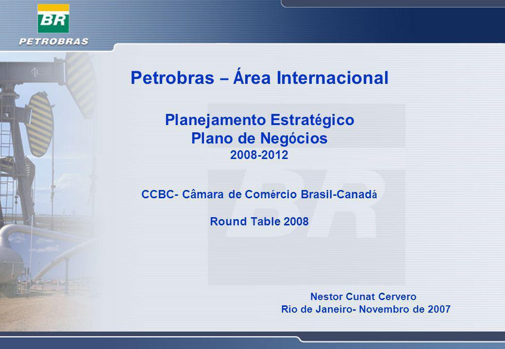 Petrobras – Área Internacional
