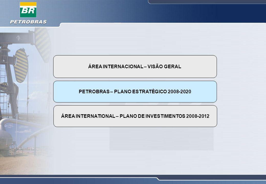 ÁREA INTERNACIONAL – VISÃO GERAL