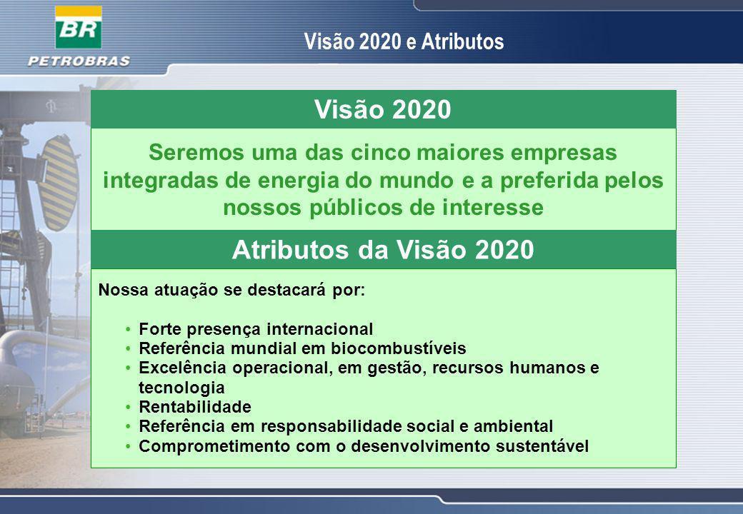 Visão 2020 Atributos da Visão 2020