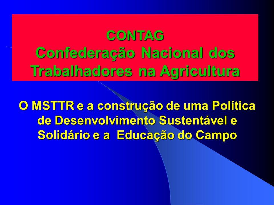 CONTAG Confederação Nacional dos Trabalhadores na Agricultura