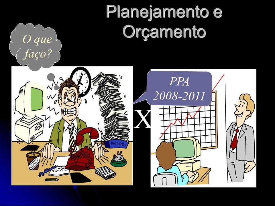 Planejamento e Orçamento