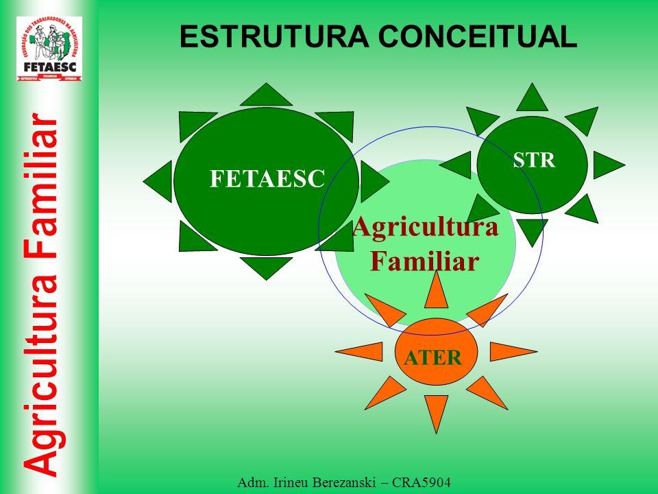 ESTRUTURA CONCEITUAL STR FETAESC Agricultura Familiar ATER
