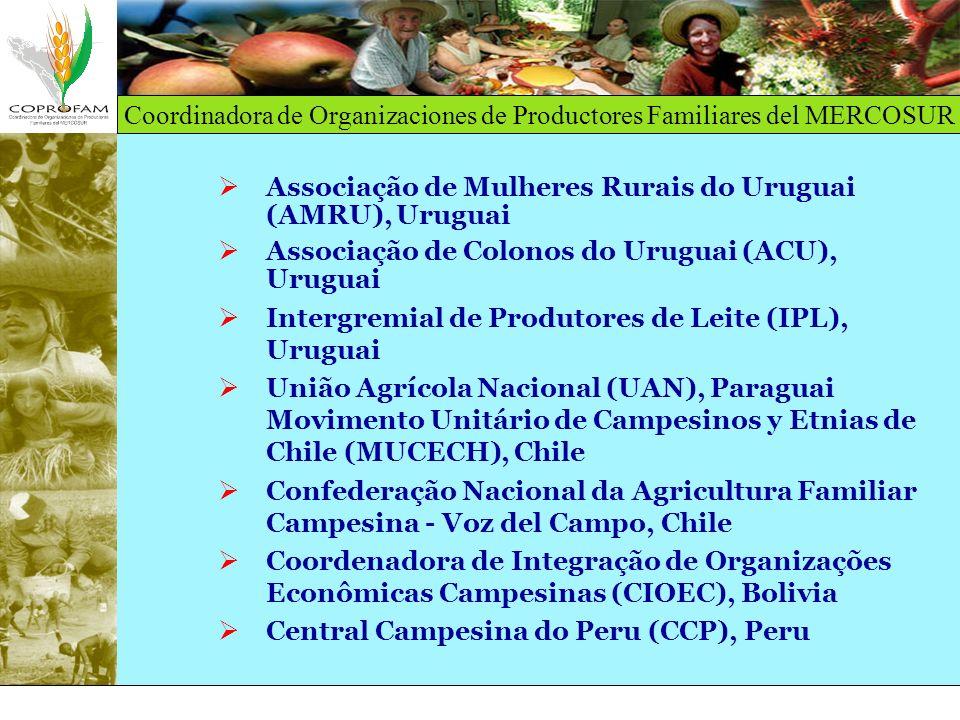 Associação de Mulheres Rurais do Uruguai (AMRU), Uruguai