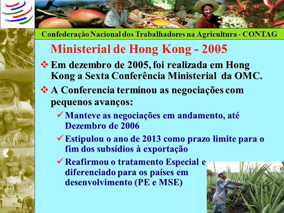 Ministerial de Hong Kong - 2005