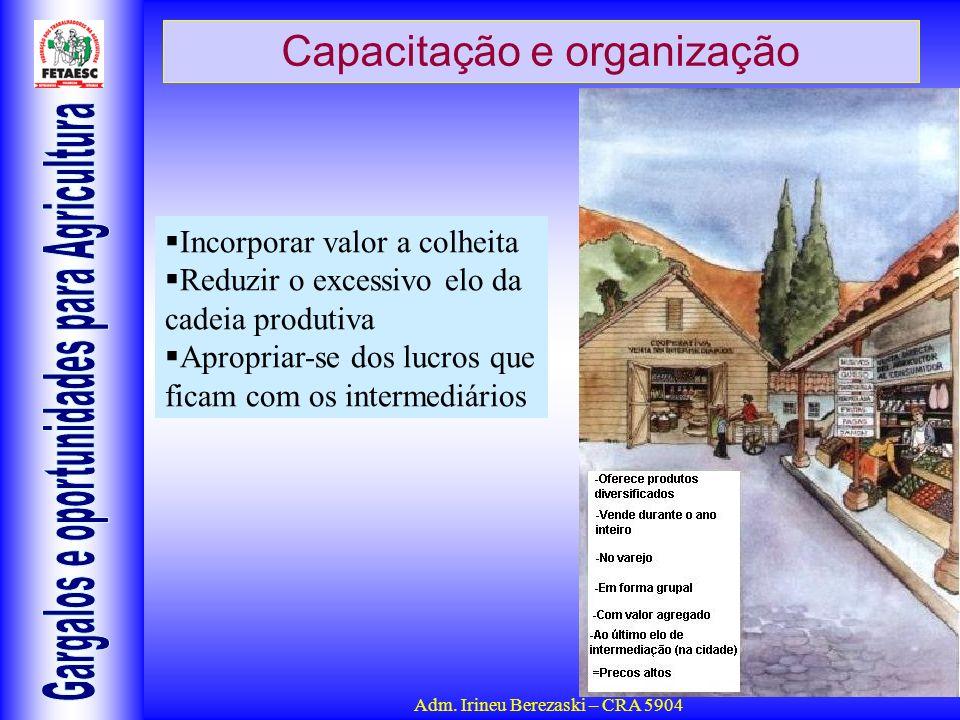 Capacitação e organização