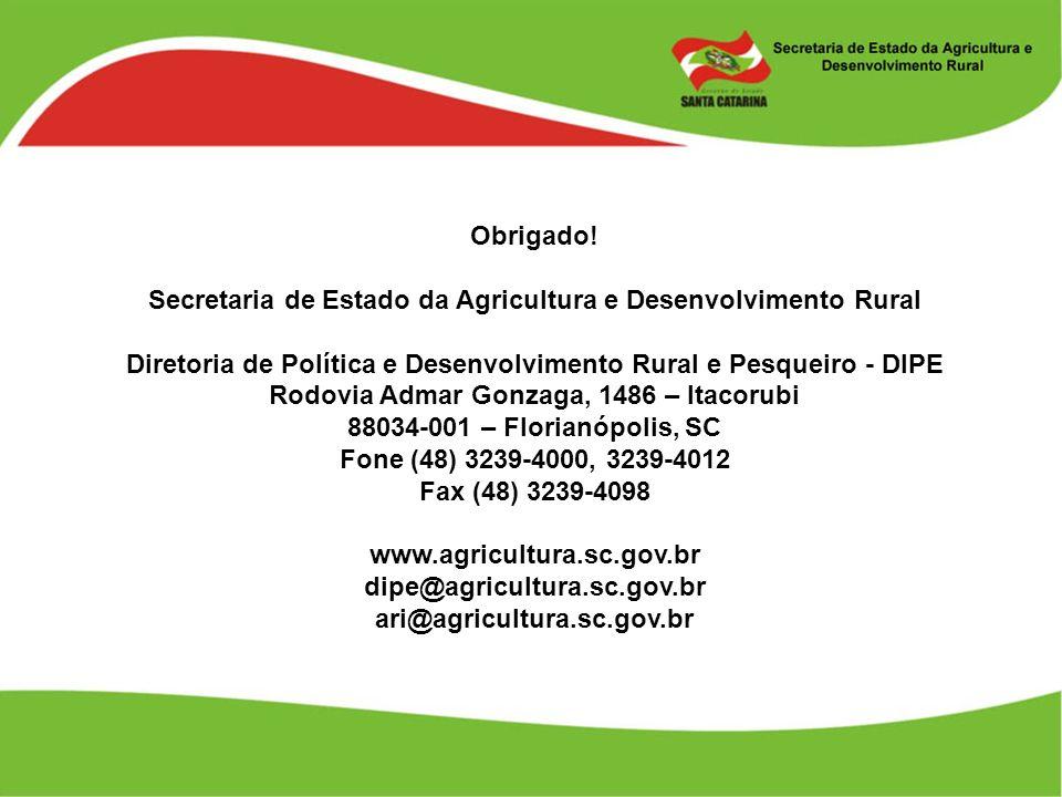 Secretaria de Estado da Agricultura e Desenvolvimento Rural