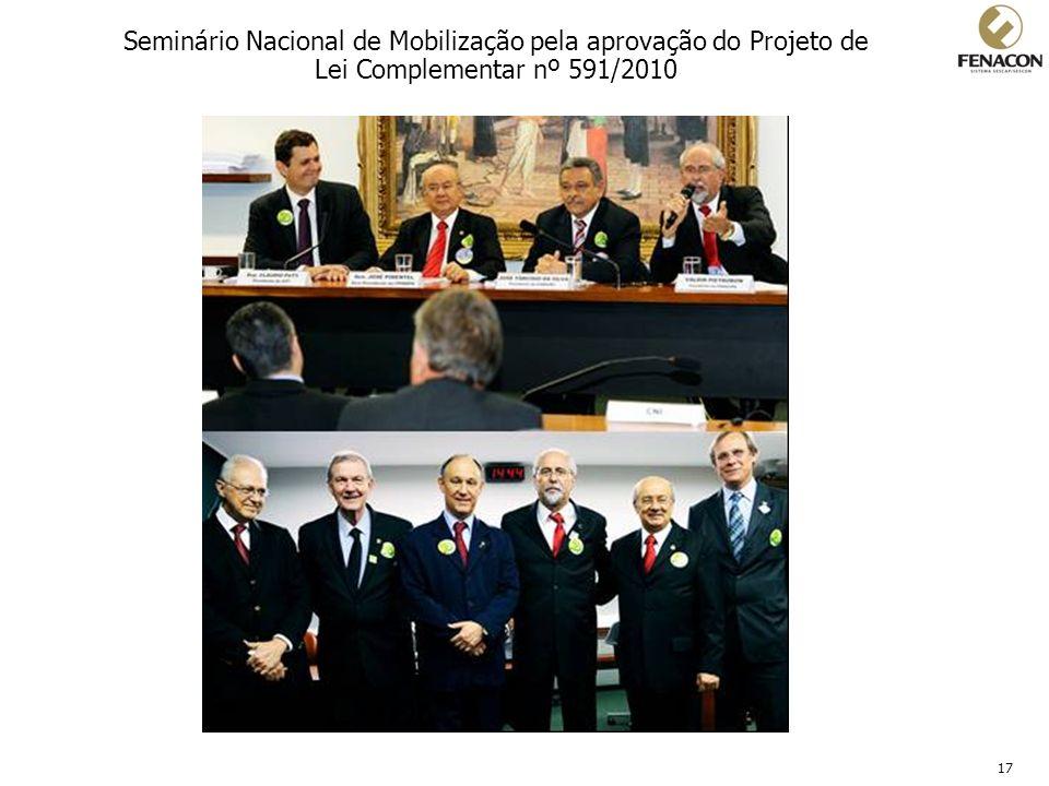 Seminário Nacional de Mobilização pela aprovação do Projeto de Lei Complementar nº 591/2010