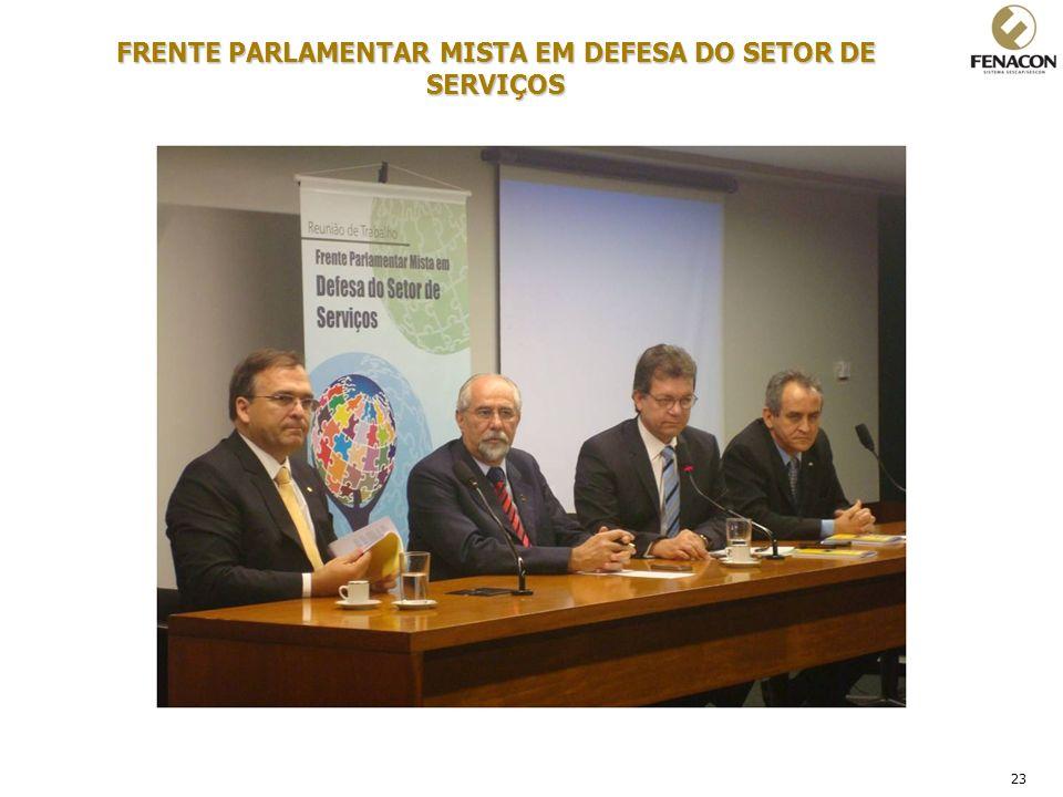 FRENTE PARLAMENTAR MISTA EM DEFESA DO SETOR DE SERVIÇOS