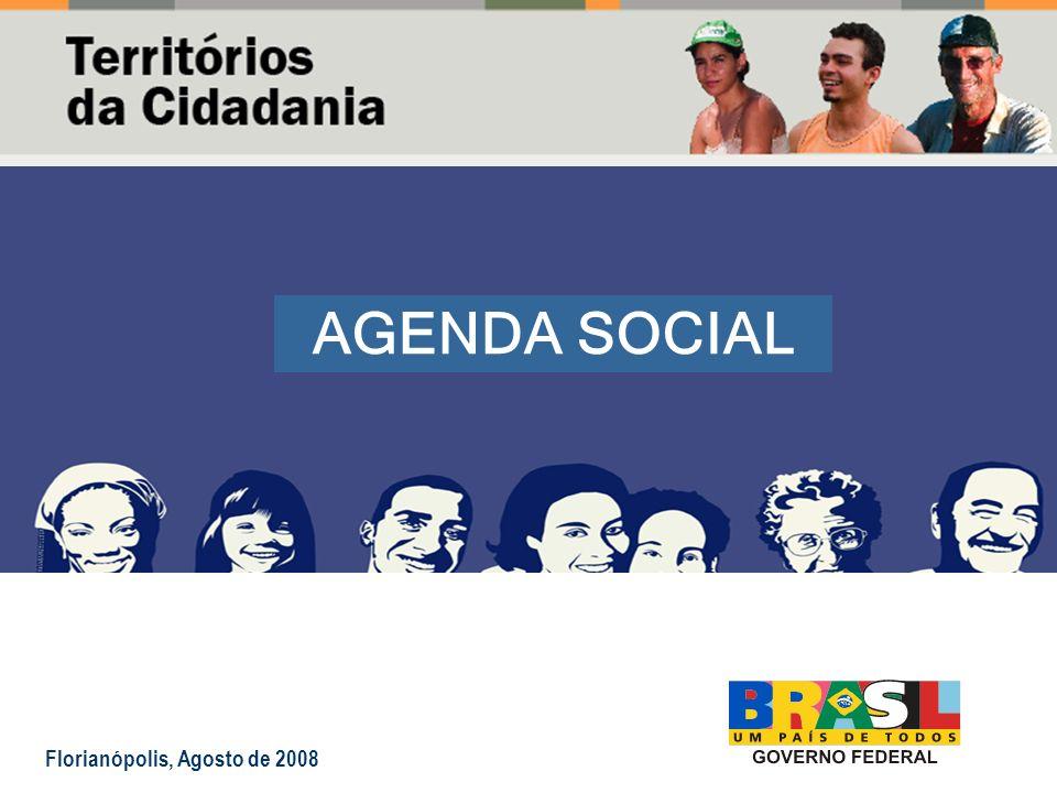 AGENDA SOCIAL Florianópolis, Agosto de 2008