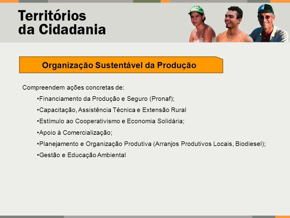 Organização Sustentável da Produção