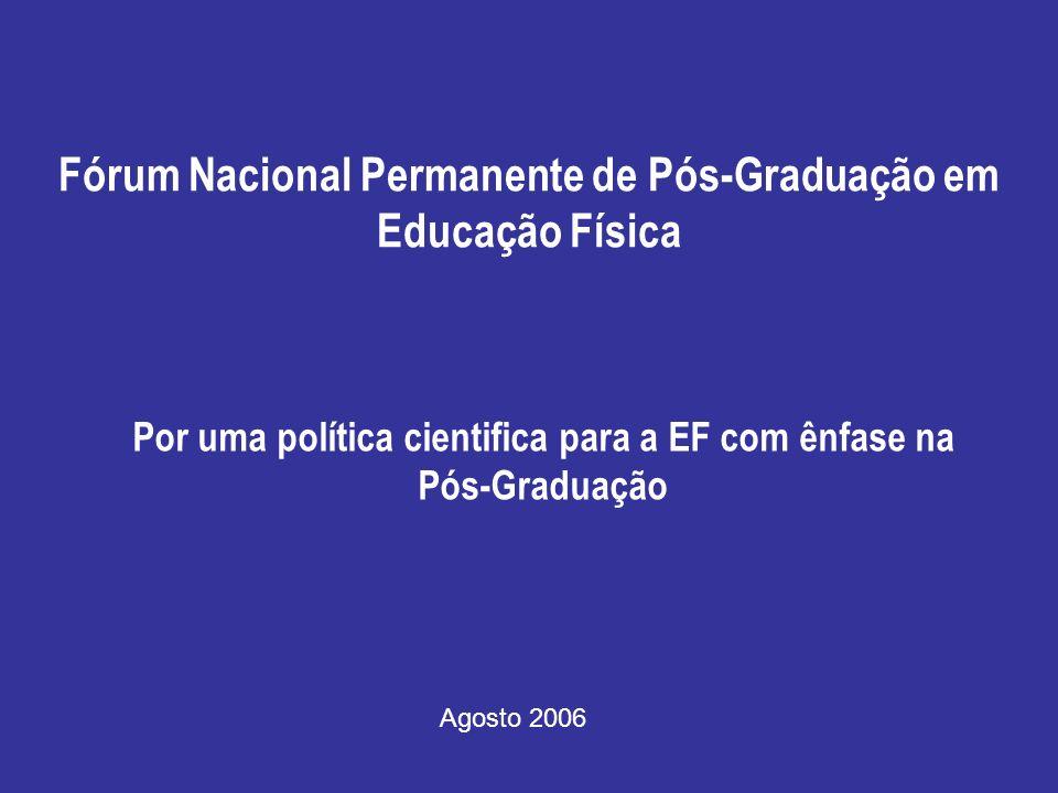 Fórum Nacional Permanente de Pós-Graduação em Educação Física