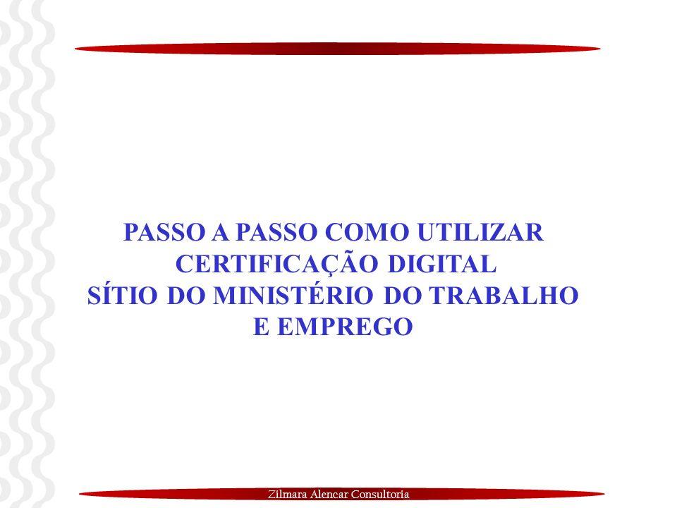 PASSO A PASSO COMO UTILIZAR SÍTIO DO MINISTÉRIO DO TRABALHO E EMPREGO