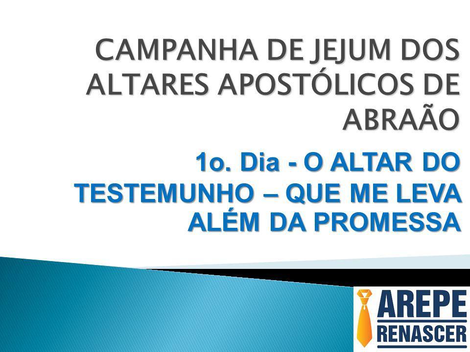 CAMPANHA DE JEJUM DOS ALTARES APOSTÓLICOS DE ABRAÃO