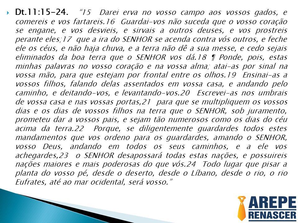 Dt.11:15-24.