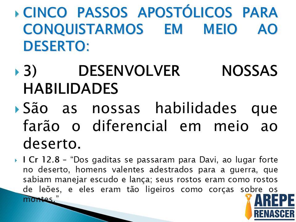 3) DESENVOLVER NOSSAS HABILIDADES