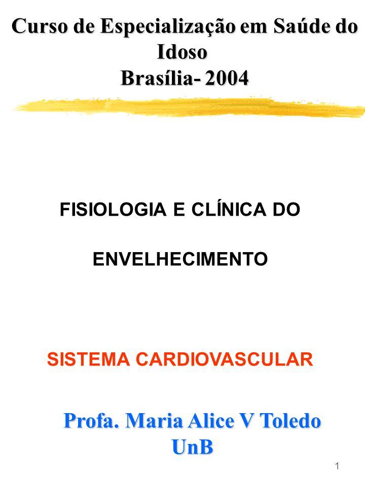 Curso de Especialização em Saúde do Idoso Brasília- 2004