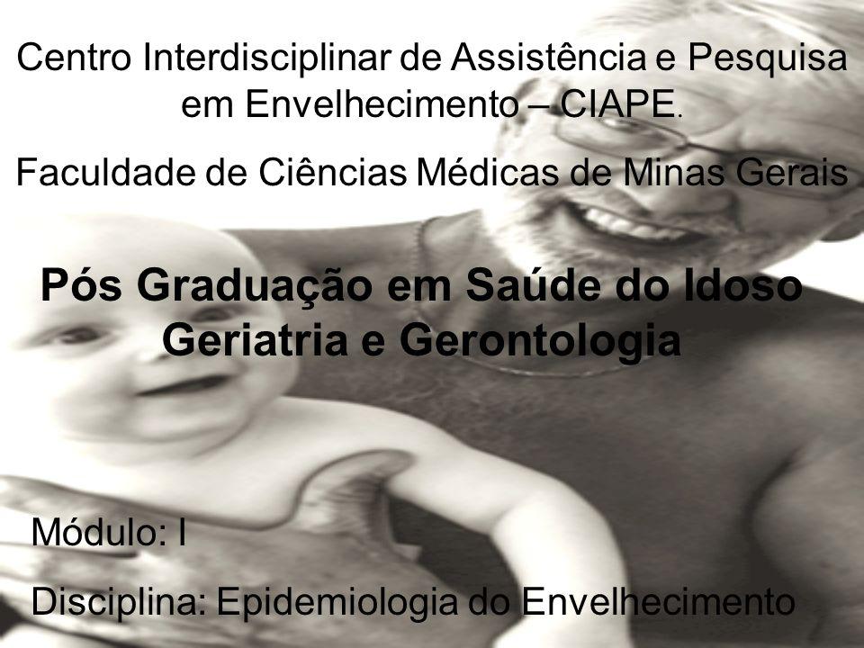 Pós Graduação em Saúde do Idoso Geriatria e Gerontologia