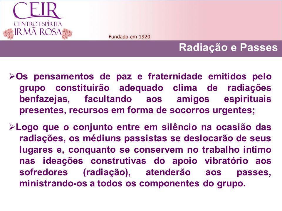 Radiação e Passes