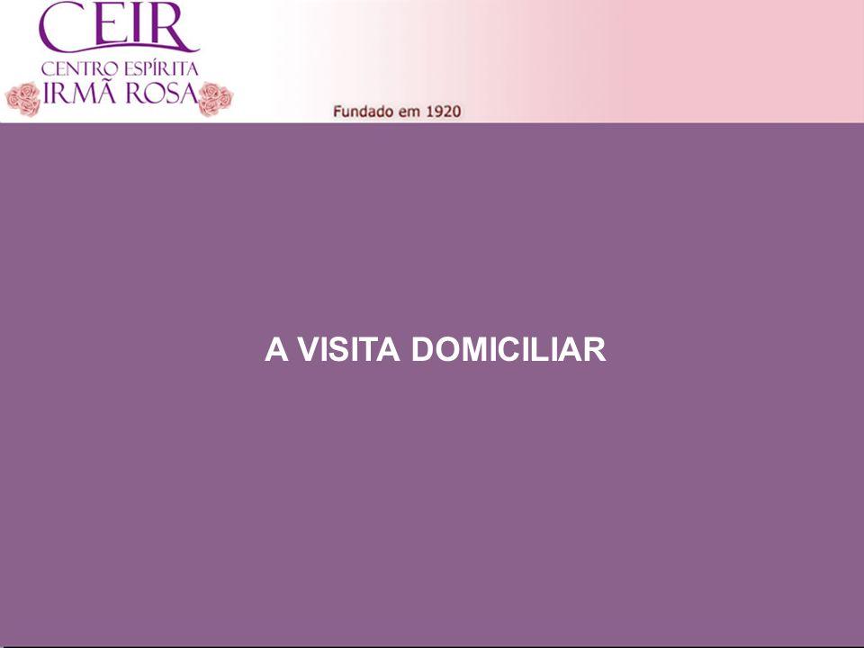 Título Principal A VISITA DOMICILIAR Título 1 Sub-Título 1
