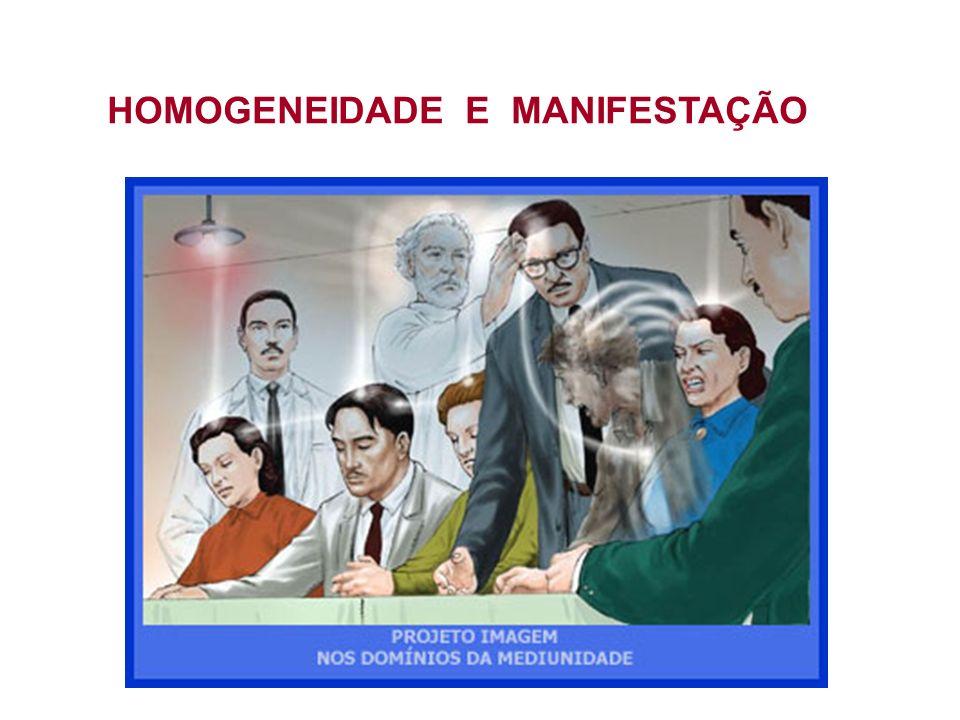 HOMOGENEIDADE E MANIFESTAÇÃO