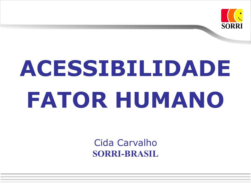 ACESSIBILIDADE FATOR HUMANO