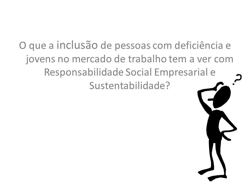 O que a inclusão de pessoas com deficiência e jovens no mercado de trabalho tem a ver com Responsabilidade Social Empresarial e Sustentabilidade