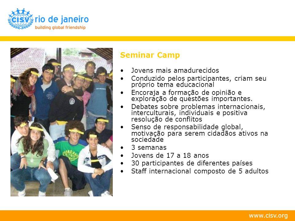 Seminar Camp Jovens mais amadurecidos