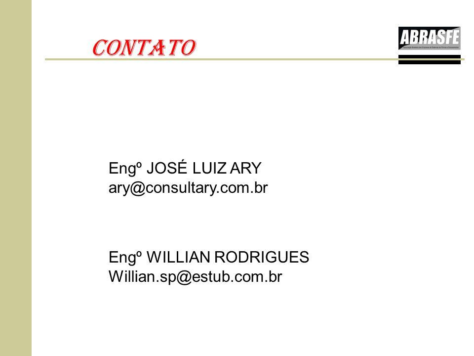 CONTATO Engº JOSÉ LUIZ ARY ary@consultary.com.br