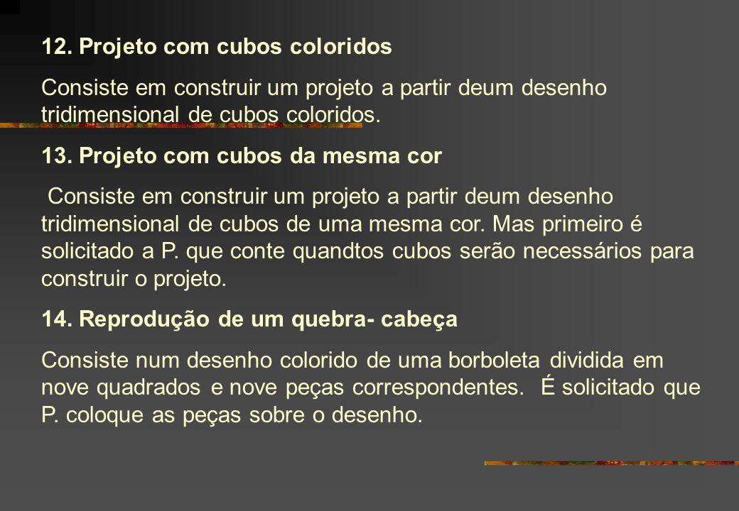 12. Projeto com cubos coloridos